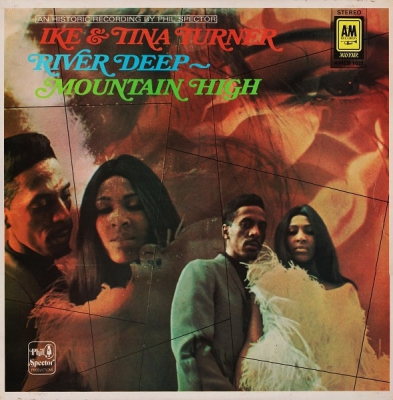 Ike And Tina Turner River Deep Mountain High Records Lps