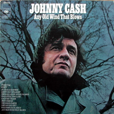 JOHNNY CASH - Any Old Wind That Blows LP