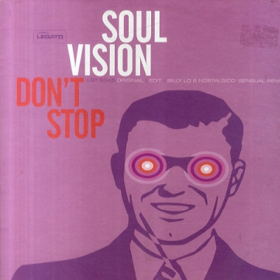 SOUL VISION - Don't Stop Record