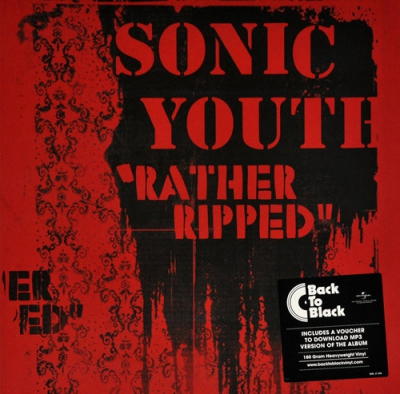 SONIC YOUTH - Rather Ripped CD