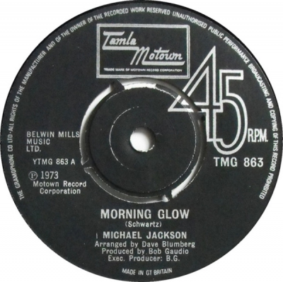 MICHAEL JACKSON - Morning Glow / My Girl