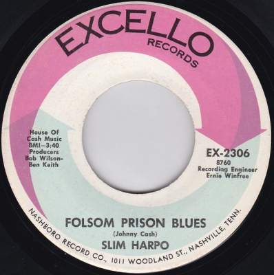 Slim Harpo Folsom Prison Blues